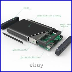 50000mAh 6 Port (5/12/20v) Portable Charger for Laptop iPad Phone Notebook