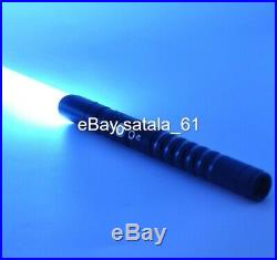 Black Star Wars Lightsaber Replica Force FX Dueling Rechargeable Metal Handle