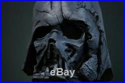 Darth Vader Melted Helmet Wearable Star Wars Halloween Cosplay Collectible