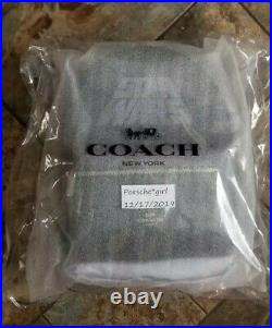 Genuine Coach x Star Wars Charlie Backpack In Signature & Leather Black SEALED