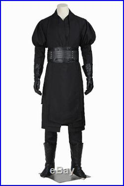 HOT Star Wars Jedi Knight Darth Maul Cosplay Costume Any Size for Adult Full Set