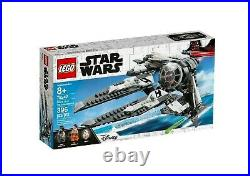 LEGO 75242 Star Wars Black Ace TIE Fighter (BRAND NEW SEALED)