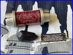 NEW Disney Star Wars Galaxys Edge REAL Black Obsidian Kyber Crystal AUTHENTIC