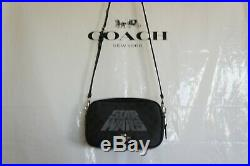 NWT Coach F88009 X Star Wars Jes Crossbody In Signature Canvas With Motif $378