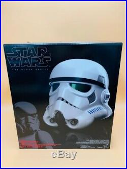 Star Wars B7097 Black Series Stormtrooper Electronic Voice Changer NEW IN HAND