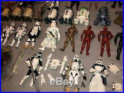 Star Wars Build A Droid Legacy Black Series Vintage Collection LOT of 66 C10