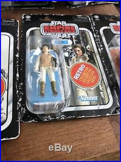 Star Wars Retro Collection Empire Strikes Back Complete Set Kenner Black Series