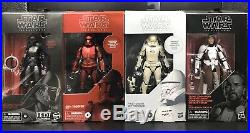 Star Wars The Black Series Carbonized Collection BUNDLE