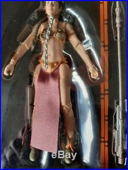 Star Wars The Black Series Princess Leia Slave Outfit 6 Inch Action Figure New